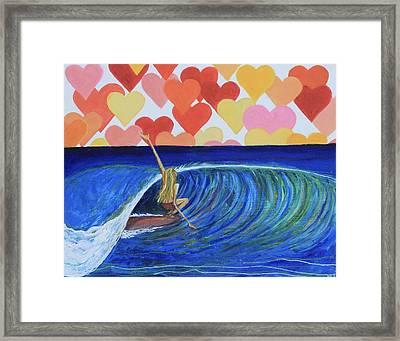 Heartbreaker Framed Print by Alexandra Talese