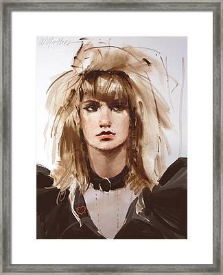 Heartbreaker Framed Print by Bill Mather