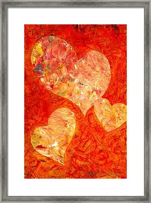 Heartfelt 2 Framed Print by Marion Rose