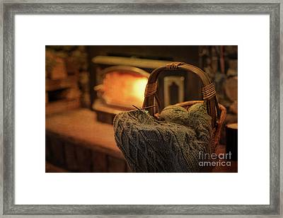 Hearth And Home Framed Print by Nicki McManus