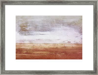 Heartland- Art By Linda Woods Framed Print