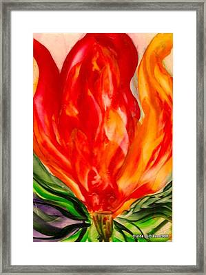 Hearts A Framed Print by Cynda LuClaire