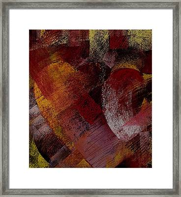 Hearts Framed Print by David Patterson