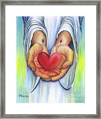 Heart's Desire Framed Print