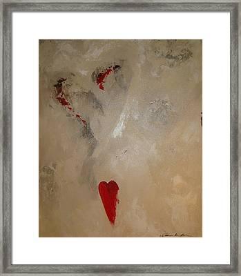 Hearts Eternal Framed Print by Vivian Mora