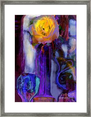 Hearts 'n Flowers Love Always Framed Print