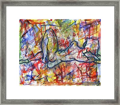 Heartsong Framed Print by Samir Patel