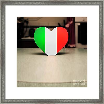 Hearty Italian Kitchen Framed Print by Jorgo Photography - Wall Art Gallery