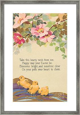 Hearty Wish Framed Print by David and Lynn Keller