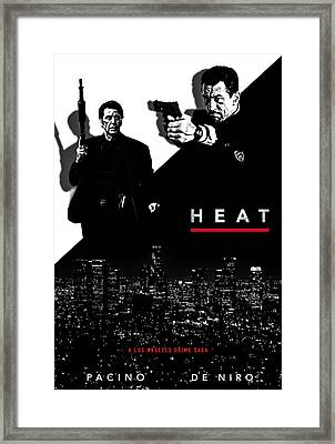 Heat Alternative Poster Framed Print by David Djanbaz