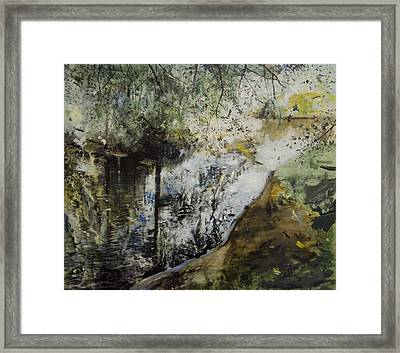 Heat And Shade Framed Print by Calum McClure