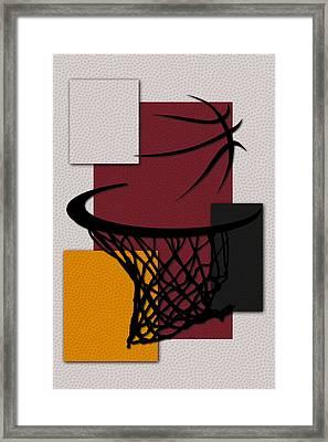 Heat Hoop Framed Print by Joe Hamilton