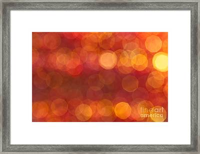 Framed Print featuring the photograph Heat by Jan Bickerton