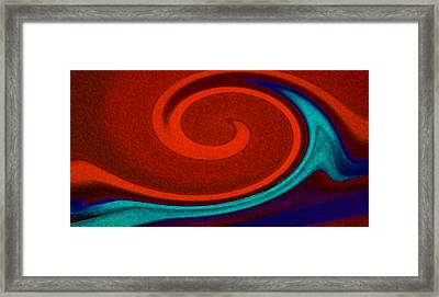 Heat Wave Framed Print by Jean Booth
