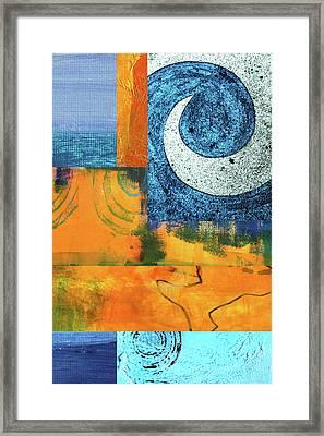 Heat Wave Framed Print by Nancy Merkle