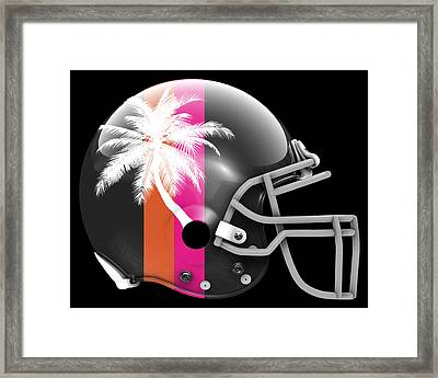 Heat What If Its Football Framed Print