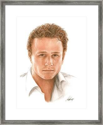 Heath Framed Print by Bruce Lennon