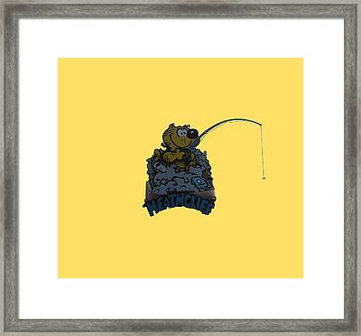 Framed Print featuring the photograph Heathcliff by Tom Prendergast