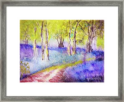Heather Glade Framed Print by Jasna Dragun