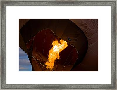 Heating Up Framed Print by Gary Smith
