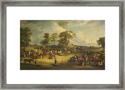 Heaton Park Races Framed Print