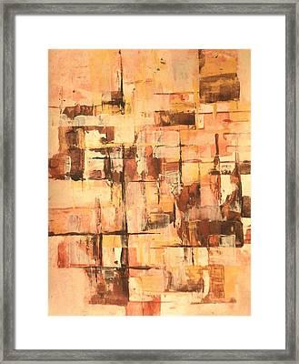 Heavan's Home Office Framed Print