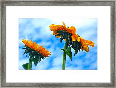 Heaven Above ... Framed Print