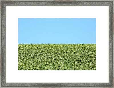 Heaven And Earth, Equal Parts Framed Print