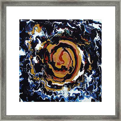 Heaven And Earth Framed Print by Gregory Young