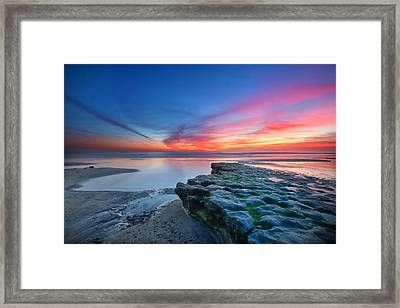 Heaven And Earth Framed Print by Larry Marshall