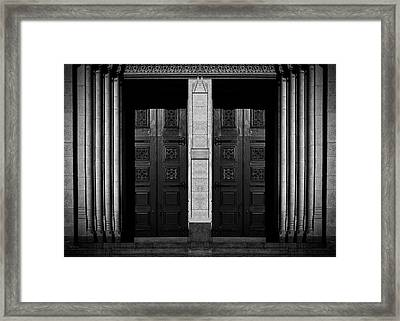 Heaven And Hell Framed Print by Bob Orsillo