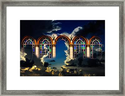 Framed Print featuring the photograph Heaven by Harry Spitz