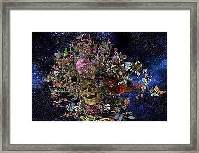 Heaven Help The Fool Framed Print by Betsy Knapp
