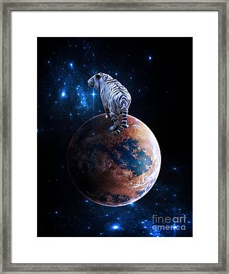 Heaven Help Us All Framed Print
