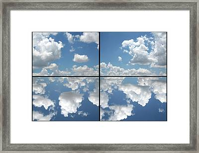 Heaven Framed Print by James W Johnson