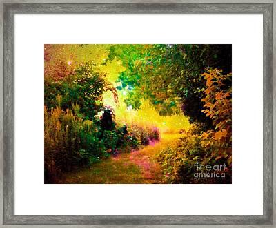 Heaven Framed Print by Johari Smith