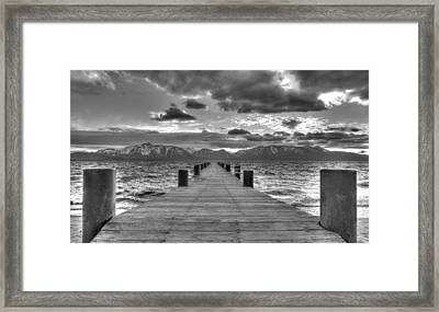 Heaven On Earth Framed Print by Brad Scott