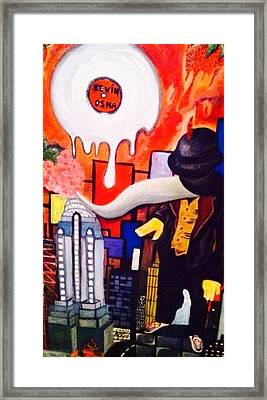 Framed Print featuring the painting Heaven On Earth  by Inga Kirilova