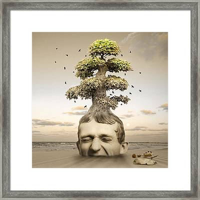 Heaven Or Hell Framed Print by Mostafa Moftah