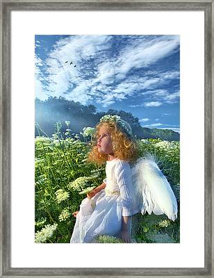 Framed Print featuring the photograph Heaven Sent by Phil Koch