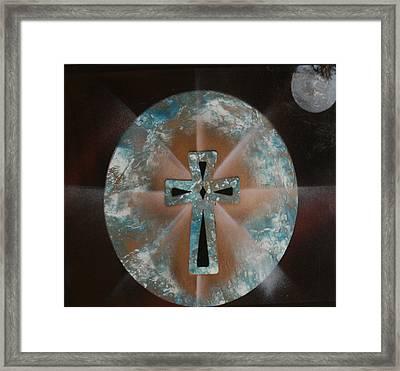Heaven Framed Print by Tbone Oliver