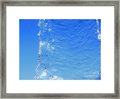 Framed Print featuring the photograph Waterfall by Ray Shrewsberry
