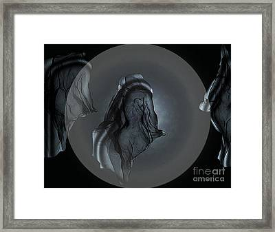 Heavenly Bodies Framed Print by Irma BACKELANT GALLERIES