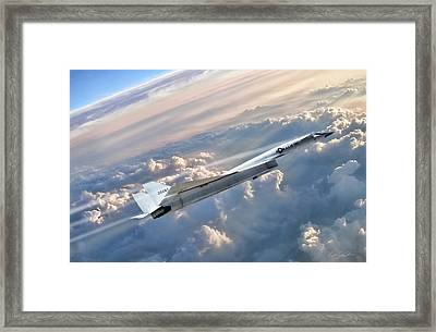 Heavenly Body Framed Print by Peter Chilelli