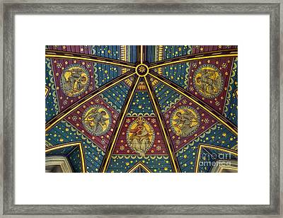 Heavenly Ceiling Framed Print