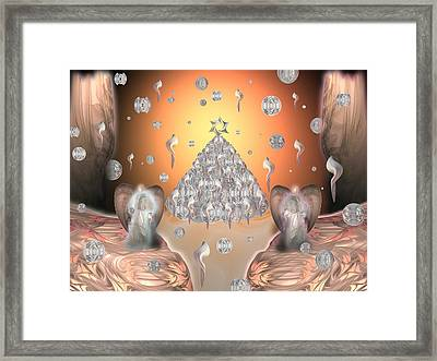 Heavenly Christmas Framed Print by Ricky Kendall
