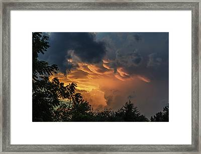 Heavenly Clouds Framed Print