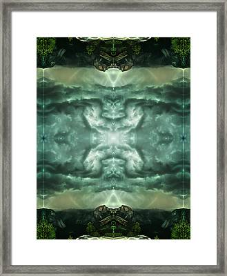 Heavenly Doorways Framed Print by Filip Klein