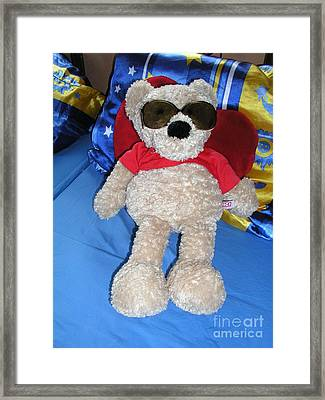 Heavenly Dreams - Sunbath Without The Sun Framed Print