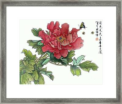 Heavenly Flower Framed Print